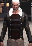 Combat jacket, black