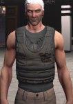 Flak vest, grey