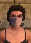 Surgeon mask. pink