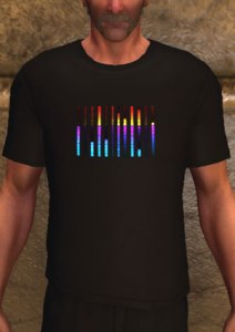 Equalizer t-shirt, black